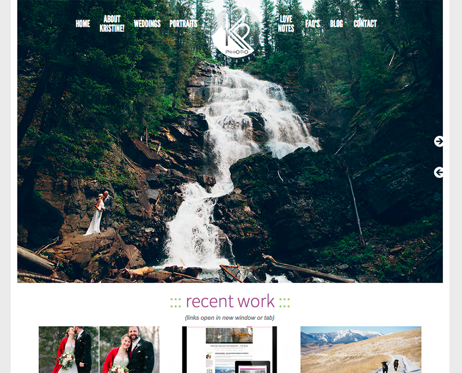 New Photography Website Design! :: Photo Website Officially Updated