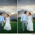 Jena + Dan :: Corvallis, Montana Wedding at the Flying Horse Ranch - Photos by Kristine Paulsen Photography