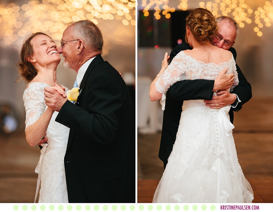 Jena + Dan :: Wedding at the Flying Horse Ranch - Photos by Kristine Paulsen Photography