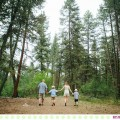 The Leach Family :: Missoula Montana Creekside Family Portraits - Photos by Kristine Paulsen Photography