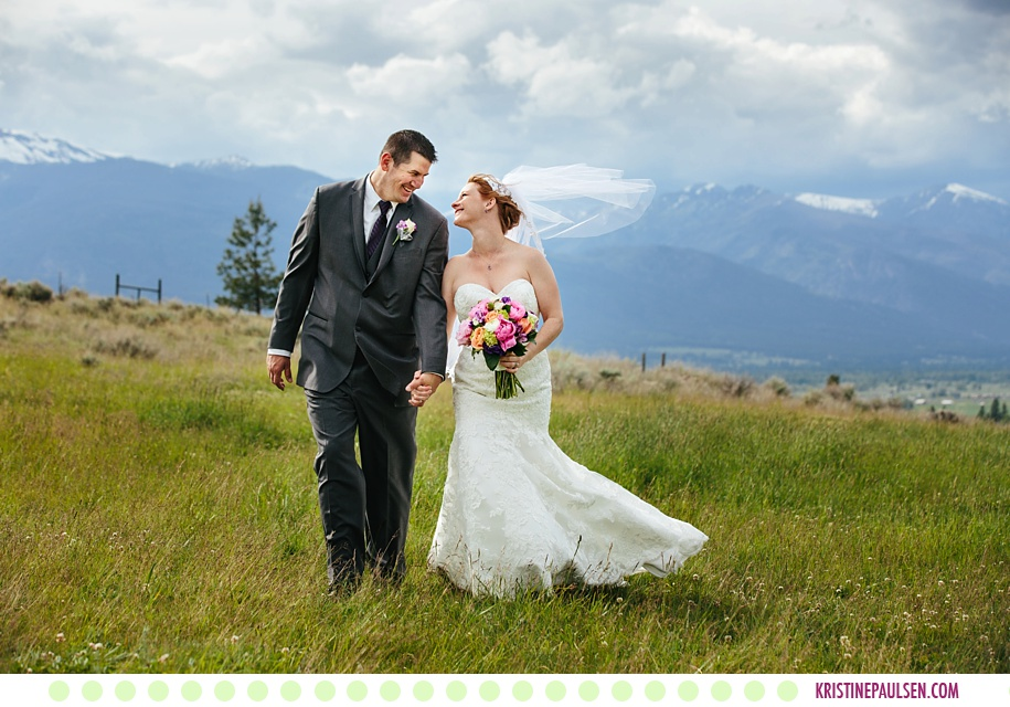Michelle + Dave :: Stevensville, Montana Wedding at the Stone Tower Estates
