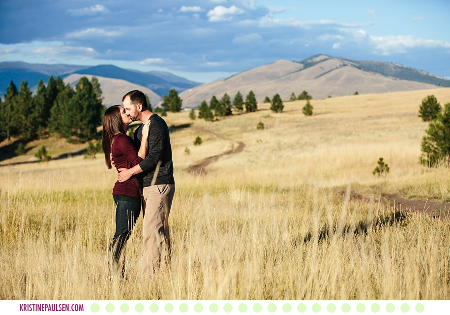 Colleen + Colin :: Missoula Montana Engagement Photography