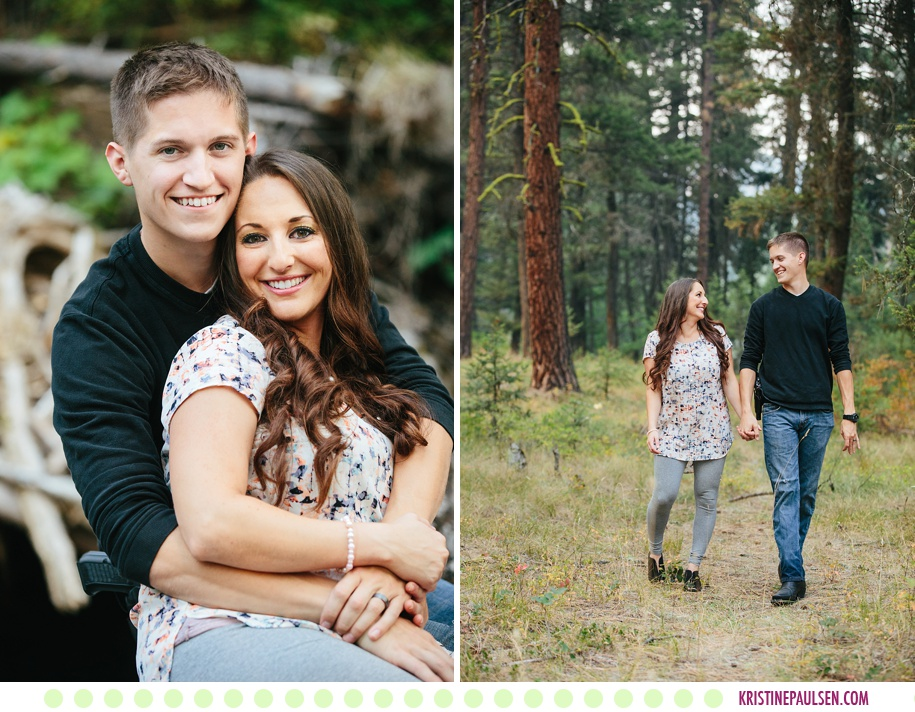 Tiffany + Christian :: Missoula Couples Portrait Session - Photos by Kristine Paulsen Photography
