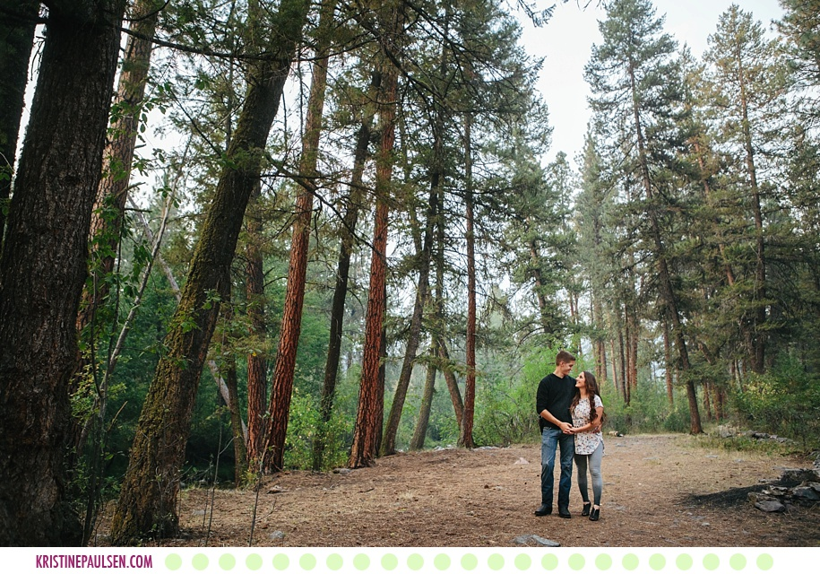 Tiffany + Christian :: Missoula Montana Couples Portrait Session - Photos by Kristine Paulsen Photography