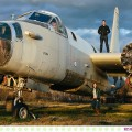 Shannon + Jud :: Missoula Engagement Photos with Old Airplanes - Photos by Kristine Paulsen Photography