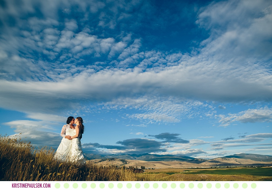 Hannah + Laura :: Missoula Montana Ranch Club Wedding