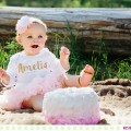 Amelia and her Family :: Baby Outdoor Cake Smash and Family Photos - Images by Kristine Paulsen Photography