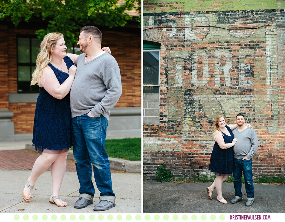 Emily + John :: College Graduation and Couples' Photos - Images by Kristine Paulsen Photography
