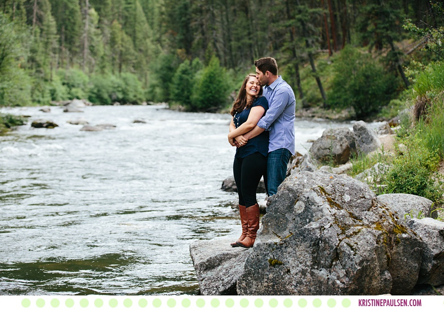 Katie + Anthony :: Rock Creek Montana Engagement Session