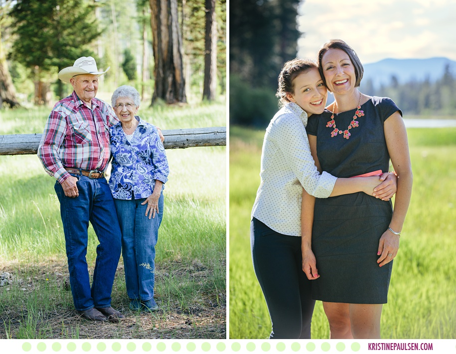 Seeley Lake Montana Family Photos - Photos by Kristine Paulsen Photography