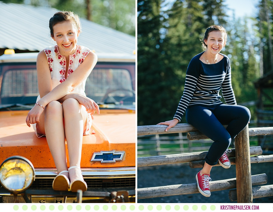 Zoe :: Seeley Lake Montana Senior Photos - Photos by Kristine Paulsen Photography