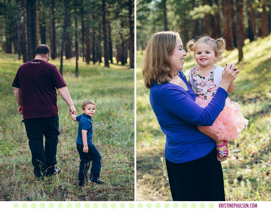 Fritz, Alison, Harry and CeCe :: Family Portraits in Potomac Montana - Photos by Kristine Paulsen Photography