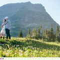 Dora + Elliot :: Elopement in Montana at Glacier National Park - Photos by Kristine Paulsen Photography