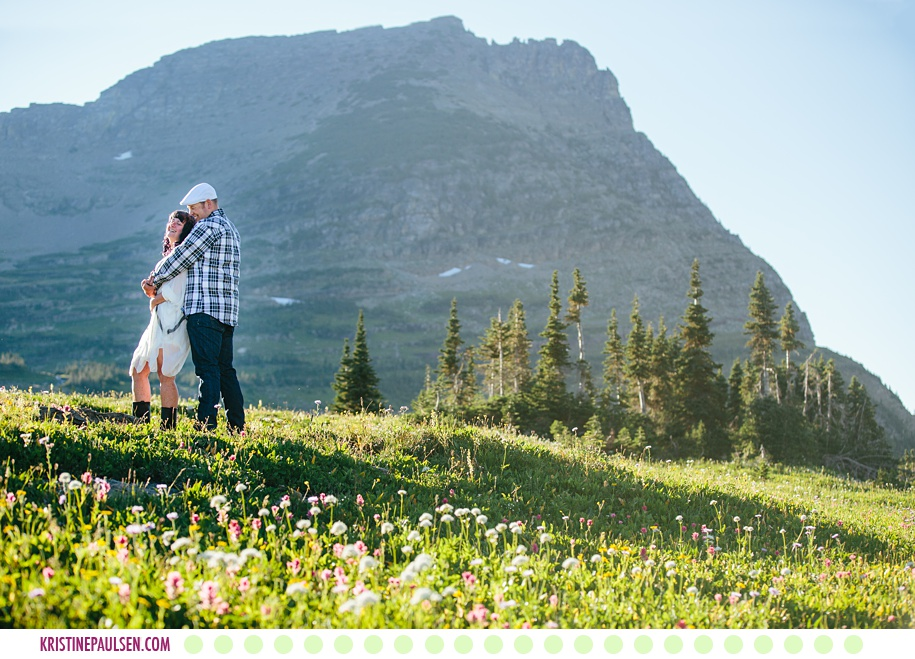 Dora + Elliot :: Elopement in Montana at Glacier National Park