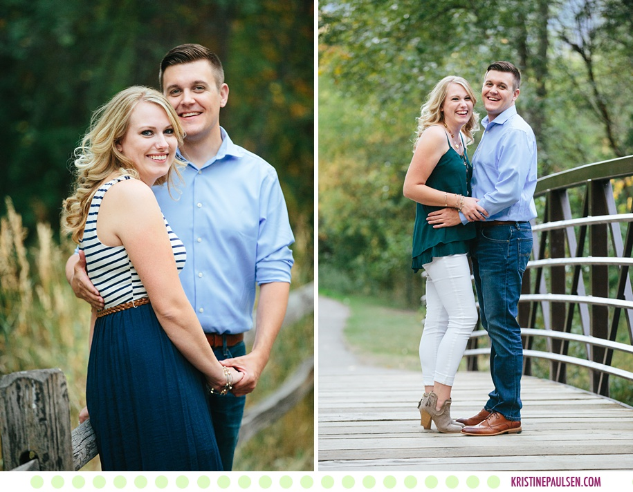 Rachel + Mark :: Engagement Pictures in Missoula MT - Photos by Kristine Paulsen Photography