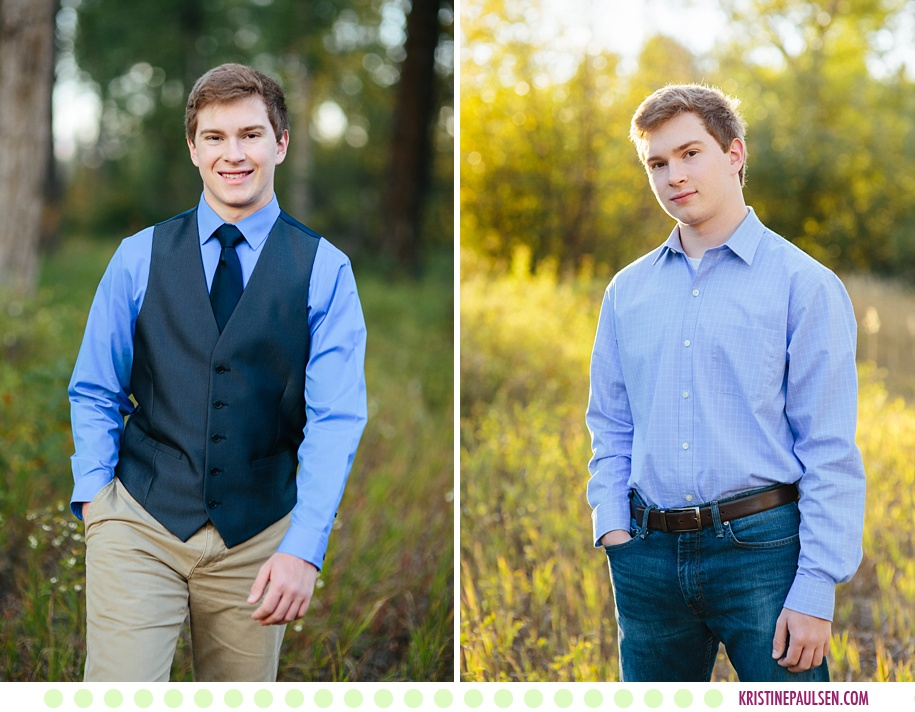 Nathan :: Missoula MT Senior Pictures - Photos by Kristine Paulsen Photography