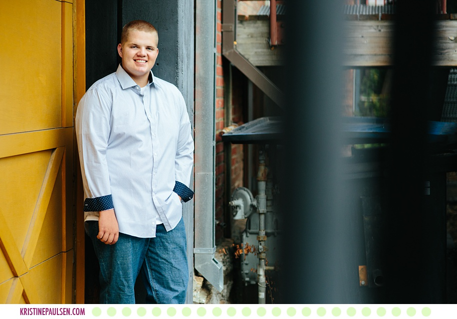 Westin :: Senior Photos in Downtown Missoula Montana - Photos by Kristine Paulsen Photography