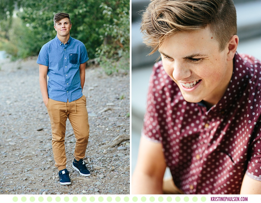 Eric :: Senior Pictures in Missoula Montana - Photos by Kristine Paulsen Photography