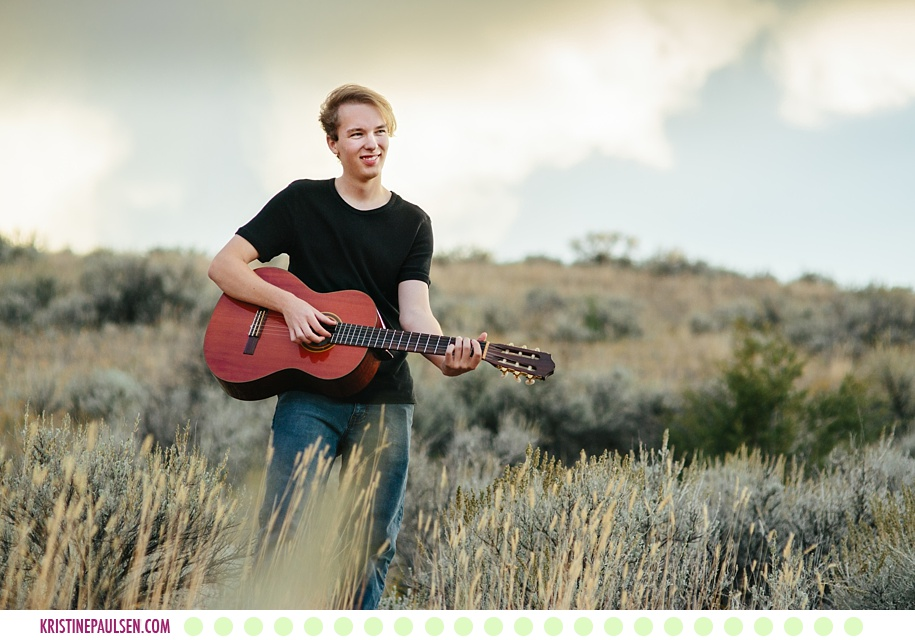 Jake :: Corvallis Montana Senior Photos - Photos by Kristine Paulsen Photography