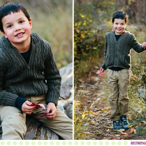 Will :: Missoula Children's Portraits - Photos by Kristine Paulsen Photography