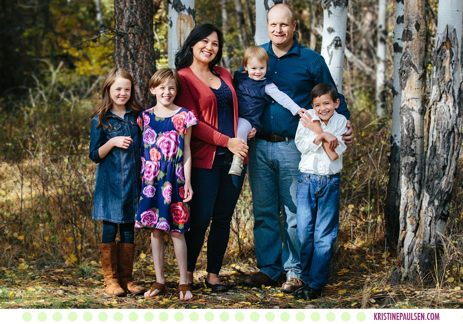The Bradley Family :: Missoula Montana Fall Family Portraits