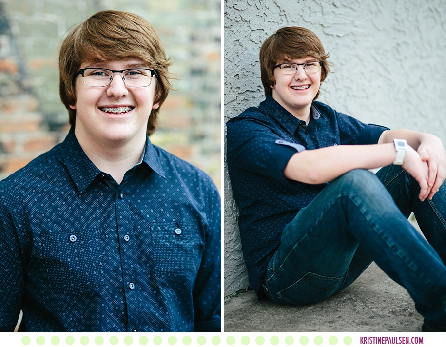 Sam :: Senior Pictures in Missoula MT - Photos by Kristine Paulsen Photography