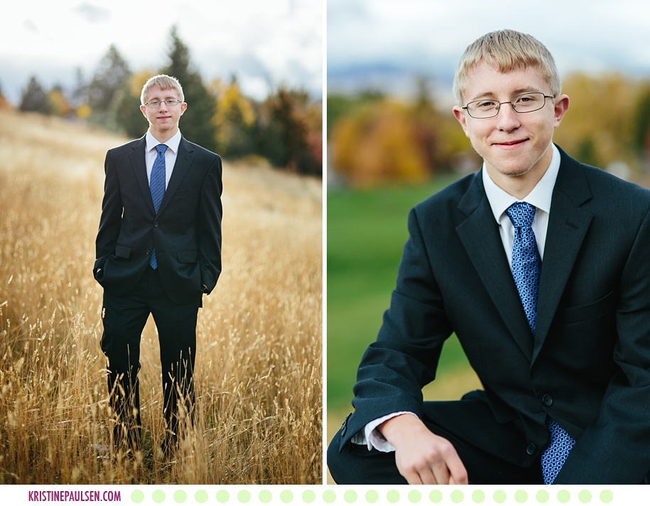 Ryan :: Senior Pictures in Missoula - Photos by Kristine Paulsen Photography