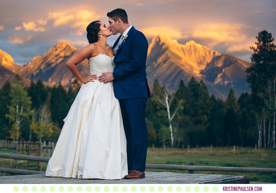 Katie + Anthony :: Autumn Sky Ridge Ranch Wedding in Ronan Montana