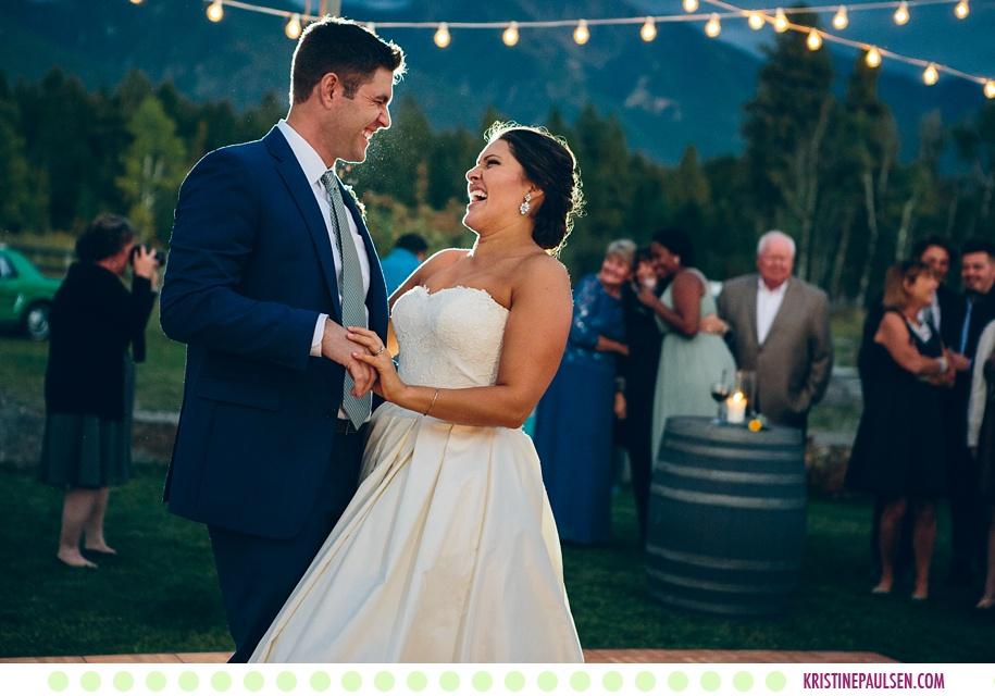 Katie + Anthony :: Autumn Sky Ridge Ranch Wedding in Ronan Montana - Photos by Kristine Paulsen Photography