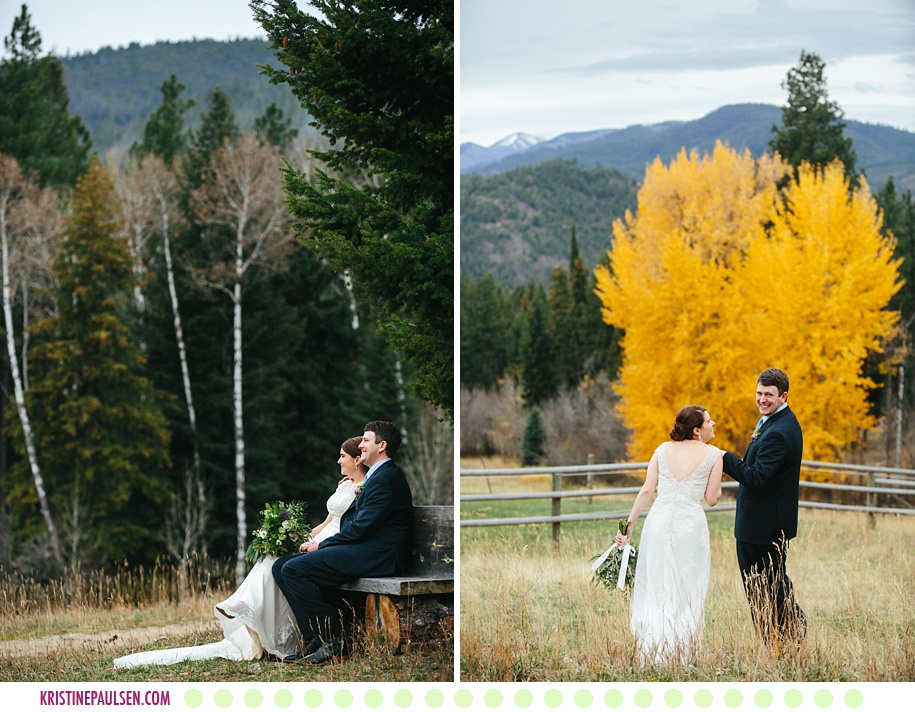 Katherine Ann + David :: Elopement at Triple Creek Ranch in Darby Montana - Photos by Kristine Paulsen Photography