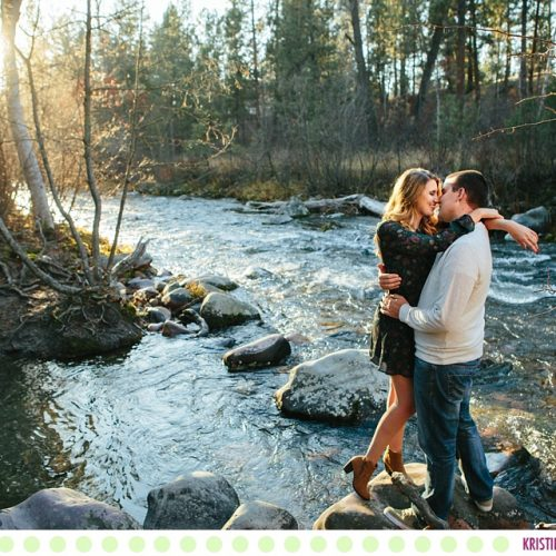 Amber + Woody :: Missoula Montana Fall Engagement Pictures - Photos by Kristine Paulsen Photography