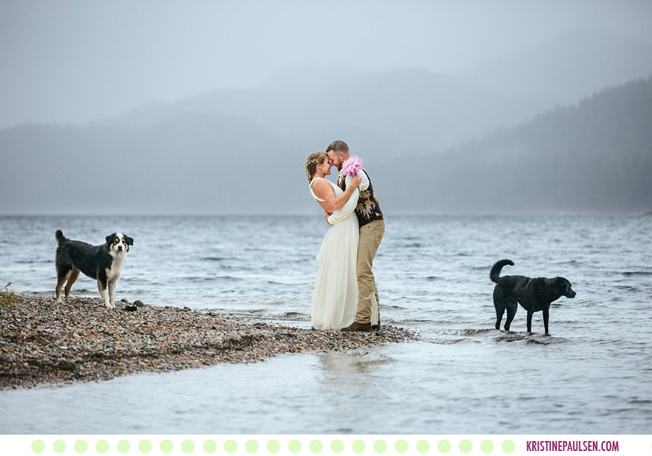 Megan + Marty :: Six Mile Estate Wedding in Bigfork Montana - Photos by Kristine Paulsen Photography