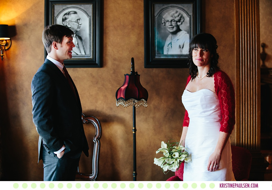 Megan + Ben :: Missoula County Courthouse Wedding - Photos by Kristine Paulsen Photography