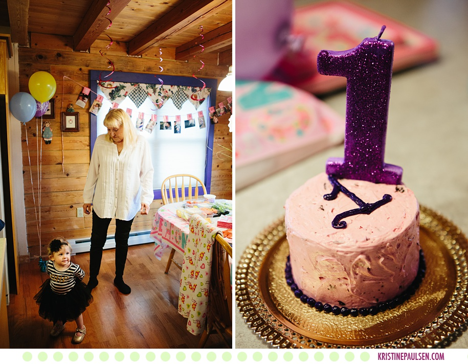 Emilia :: First Birthday Party Celebration in Frenchtown, Montana - Photos by Kristine Paulsen Photography