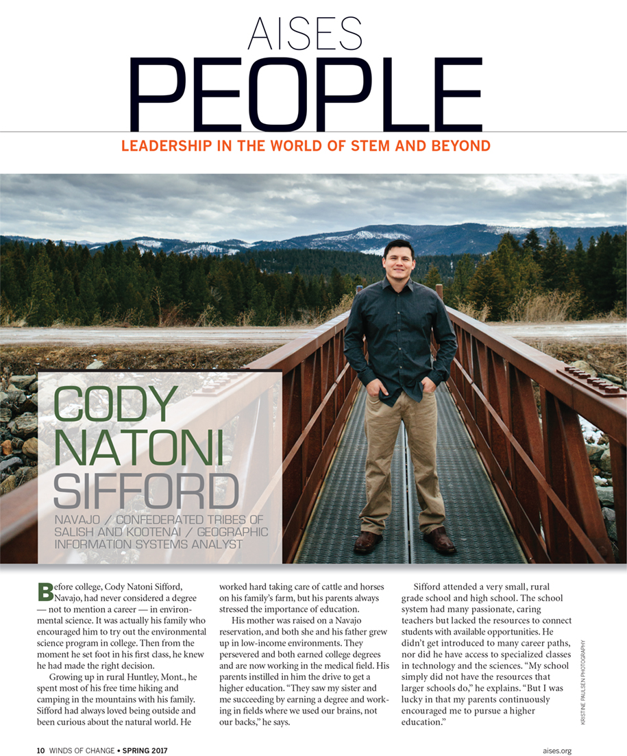 Cody :: Winds of Change Magazine Shoot - Photos by Kristine Paulsen Photography