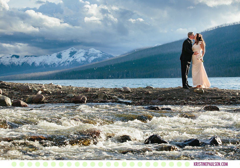 Deanna + Michael :: Glacier National Park Elopement at Lake McDonald