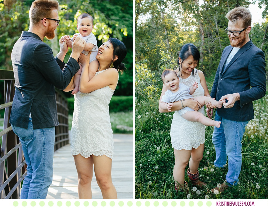 Bonnie, Josh and Ro :: Missoula Family Pictures in the Spring - Photos by Kristine Paulsen Photography