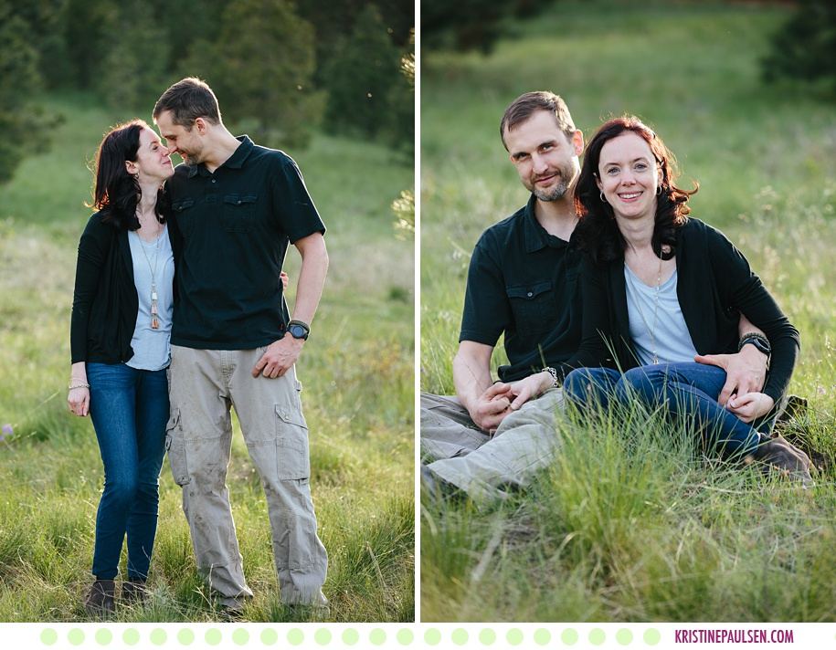 Becka, Stephan, Blayz, Brodee and Daisy :: Springtime Family Photos in Missoula - Photos by Kristine Paulsen Photography
