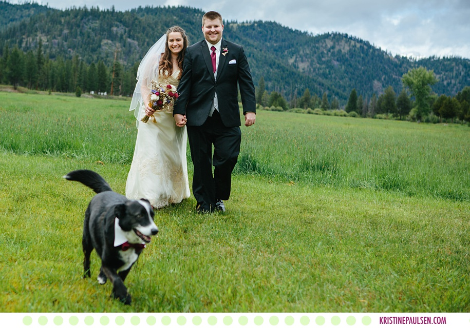 Jessica + Ryan :: Alta Ranch Wedding in Darby Montana