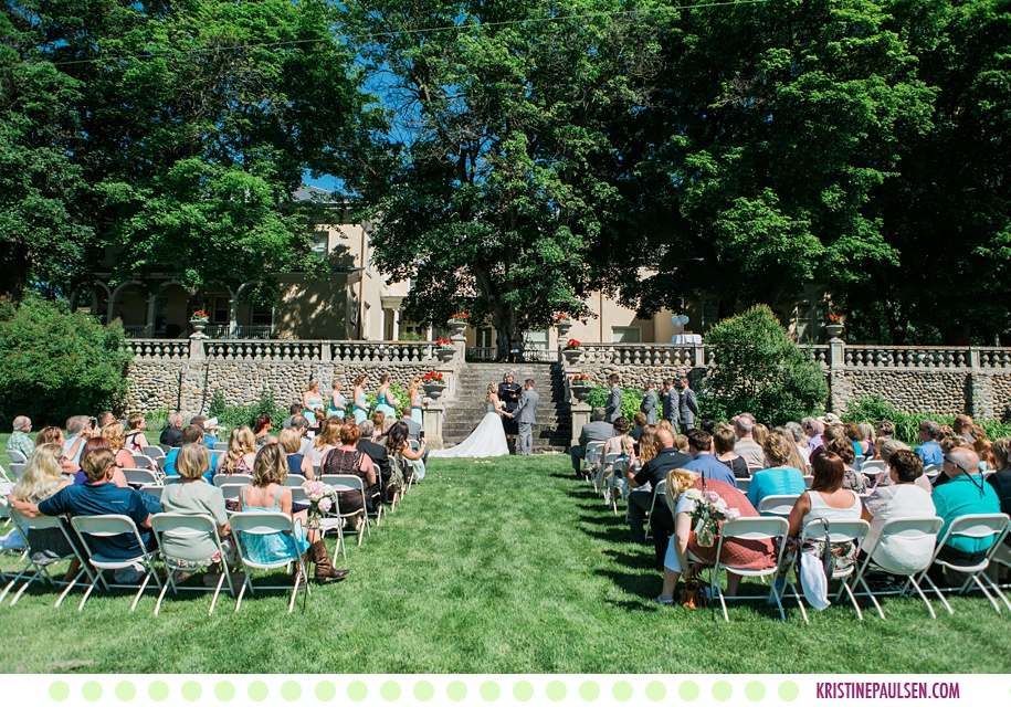 Rachel + Mark :: Daly Mansion Wedding in Hamilton Montana - Photos by Kristine Paulsen Photography