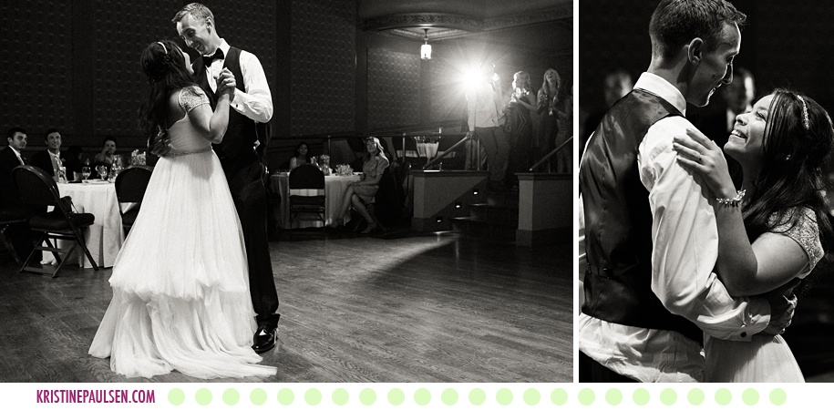 Raisa + Mark :: Missoula Wedding at St. Francis Church - Photos by Kristine Paulsen Photography