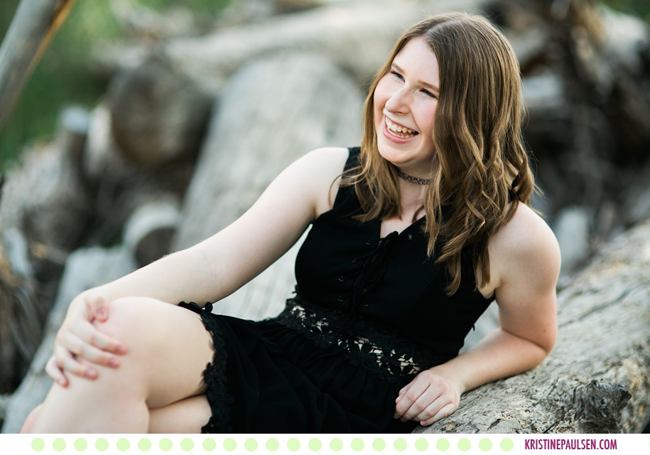 Camryn :: Senior Pictures in Missoula MT - Photos by Kristine Paulsen Photography