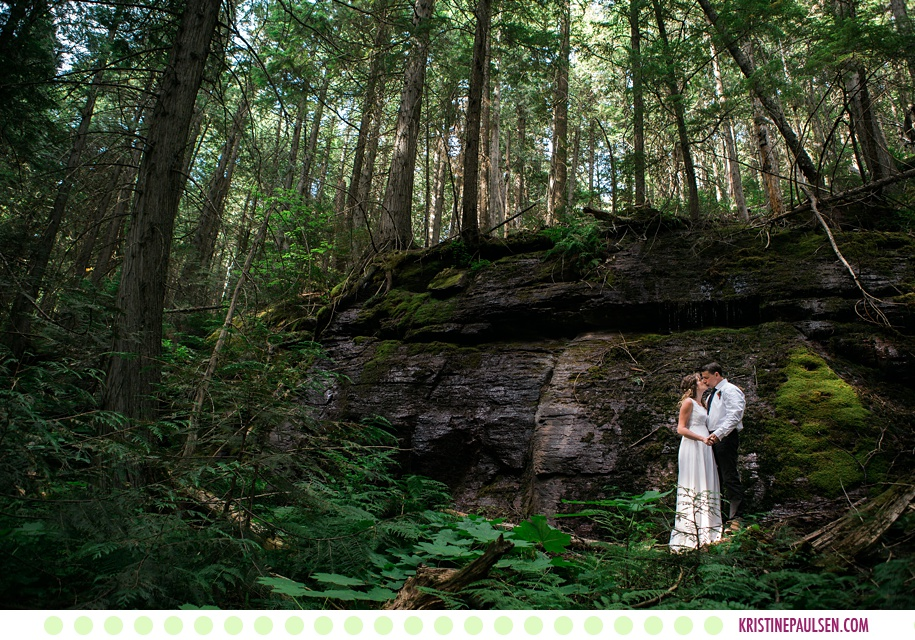 Leah + Rob :: Elopement in Glacier National Park