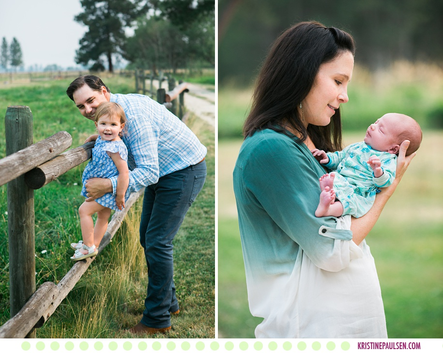 Piper + Family :: Florence Montana Lifestyle Newborn Photos - Photos by Kristine Paulsen Photography
