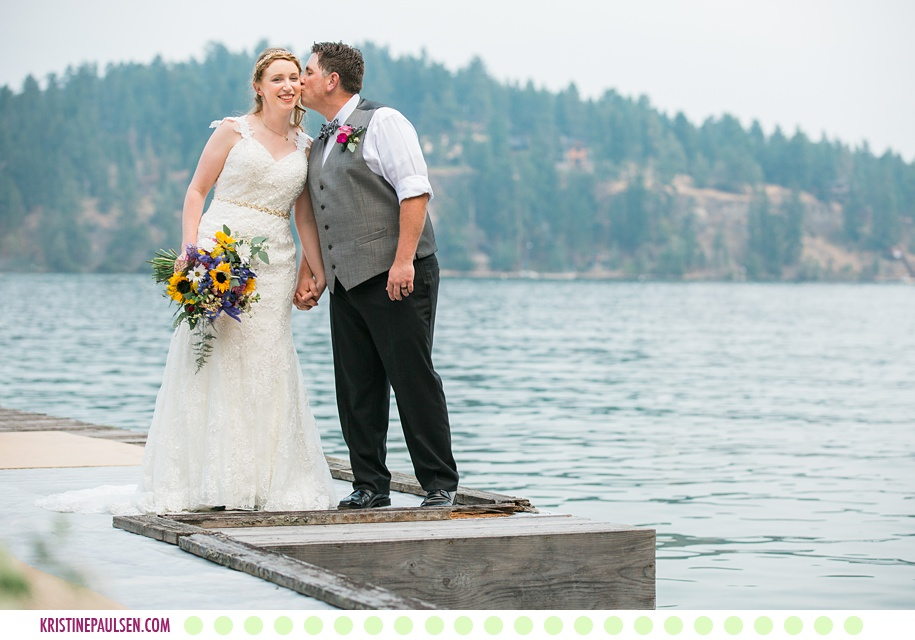 Andrea + Mike :: Wedding on Flathead Lake in Polson Montana