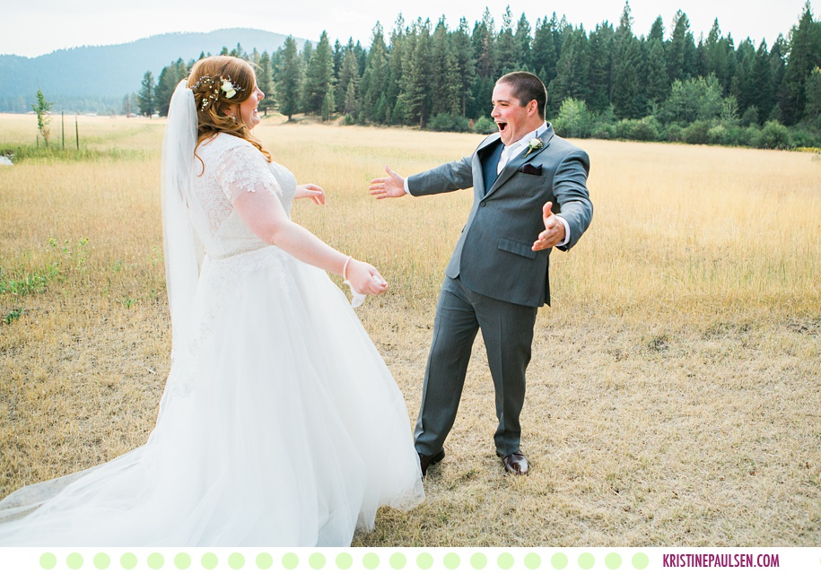 Margaret + Grant :: Rich Ranch Wedding in Seeley Lake Montana - Photos by Kristine Paulsen Photography