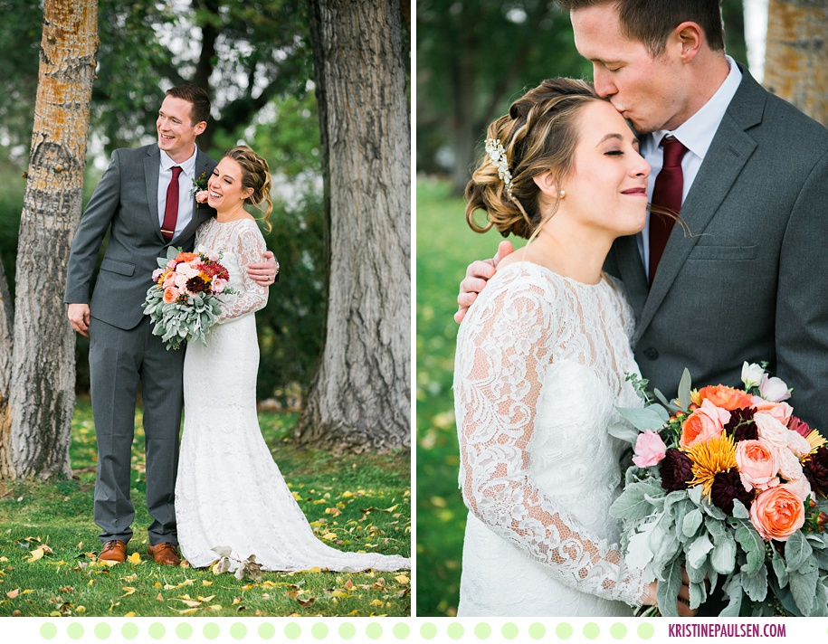 Haley + Kevin :: Sacajawea Hotel Wedding in Three Forks Montana - Photos by Kristine Paulsen Photography