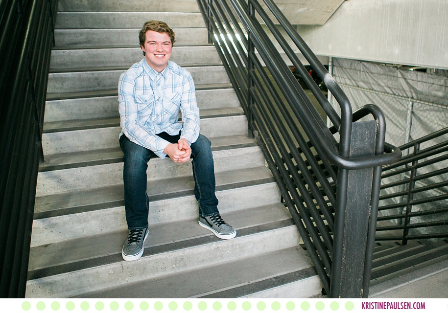 Bridger :: Missoula Montana Urban Senior Pictures - Photos by Kristine Paulsen Photography