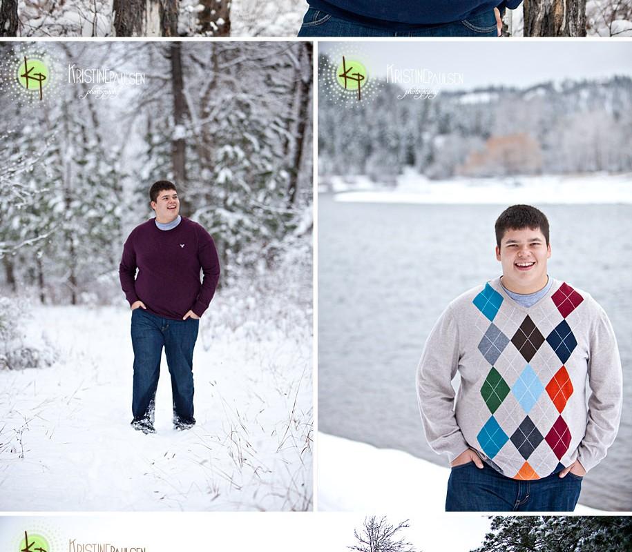 Snow Days! – {Casey's Senior Photo Session}