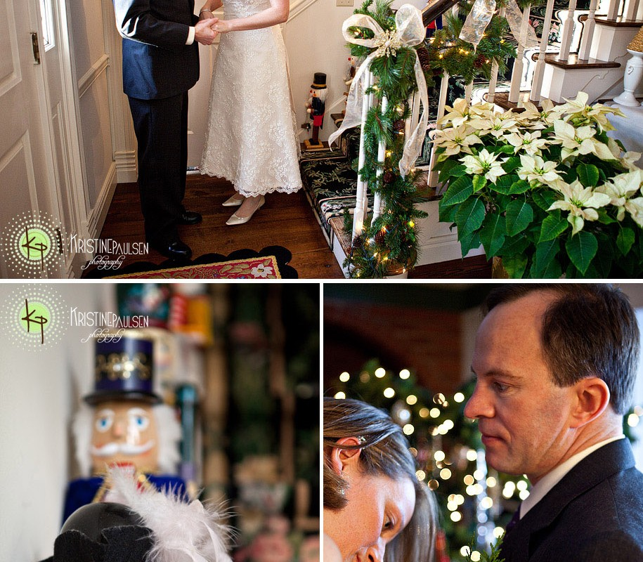 Of Twinkling Lights and Christmastime Love – {Graham and Jennie's Missoula Wedding}